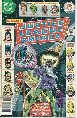 JUSTICE LEAGUE of AMERICA 147 (DC 1977) VFN+ condition LEGION of SUPER-HEROES
