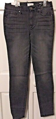 Nwts Women/'s Jessica Simpson High Rise Skinny Jeans Ontario Gray Stretch 4//27