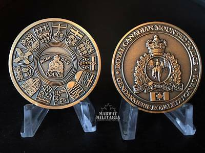 RCMP Challenge Coin - 10 Provinces & 3 Territories (Released December 2018)