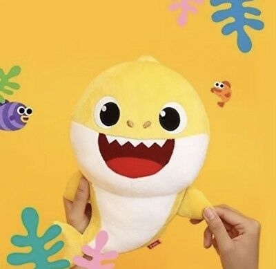 Baby Shark Yellow Singing Plush Pinkfong Wowwee Official English SHIPS FAST!!!
