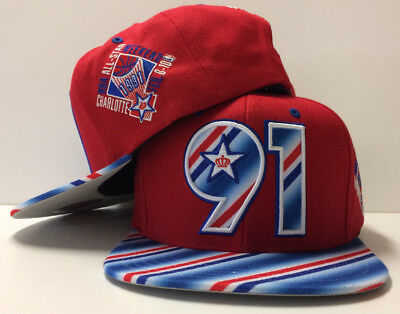 info for 17d6d afe44 NBA 1991 All Star Game Mitchell   Ness Cap Snapback Hat 91 Candy ASG