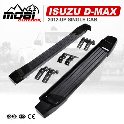 Pair Side Steps Running Boards OEM Fit Isuzu D-MAX / Holden Colorado 2DR 2012-ON