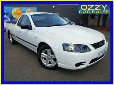 2006 Ford Falcon BF MkII XL White Automatic 4sp A Utility