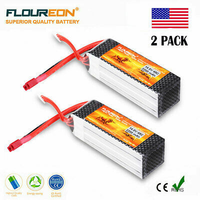 11.1V 5000mAh 3S 55C Lipo Battery Deans Plug for RC Helicopter Airplane Monster