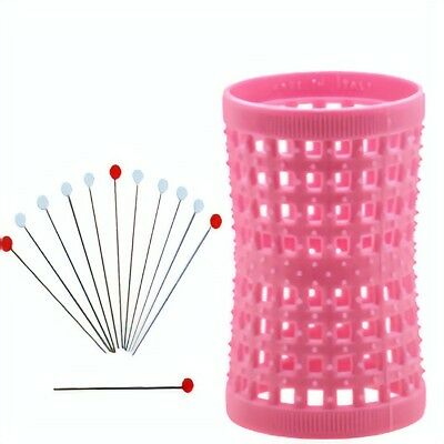 Large Pink 42mm /1.65in Pack of 12 + 12 Metal PINS