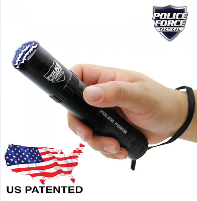 Tactical STUN GUN, Police Force 9,200,000, w/ 5 mode light & holster included!