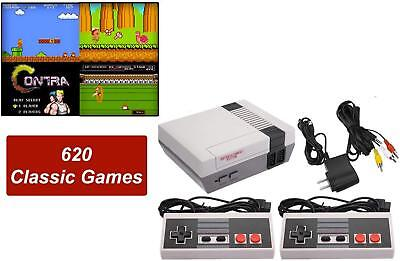 Mini Retro Video Game Consoles Classic Built in 620 Games with 2 Controllers