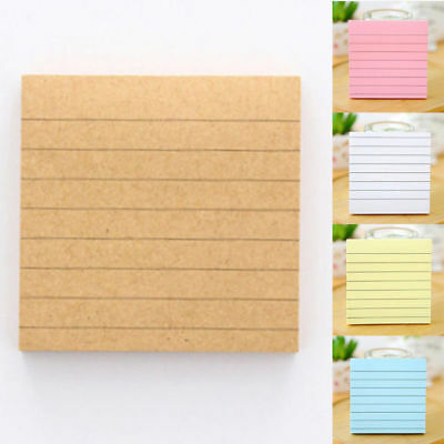 Kawaii Sticky Notes Notebook Memo Pad Bookmark Paper Sticker Notepad Stationery