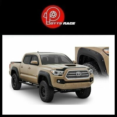 Bushwacker Fits 2016 18 Toyota Tacoma Pocket Style Front Rear Fender Flares 499 00 Picclick