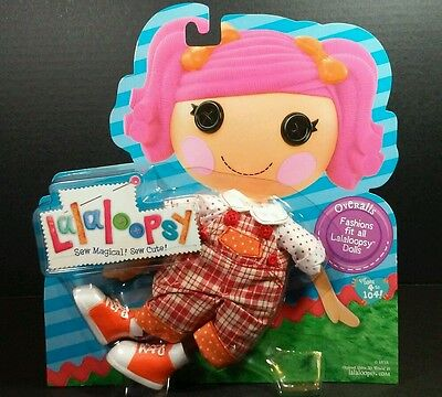 Lalaloopsy Doll Clothes Overalls Fashion Pack Outfit Clothing Set Full Size