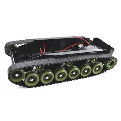 Robot Tank Chassis Handmade DIY Kit Shock Light Absorbed 260 Motors Damping