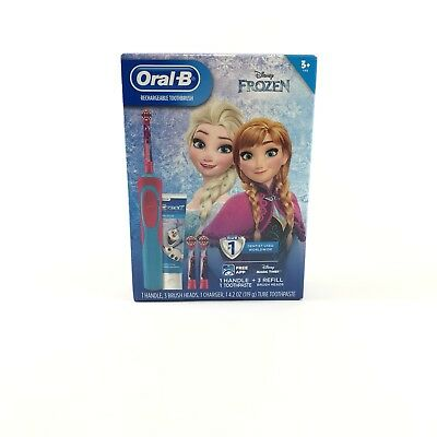 Disney Frozen Oral-B Kids Rechargeable Electric Toothbrush Bundle Pack