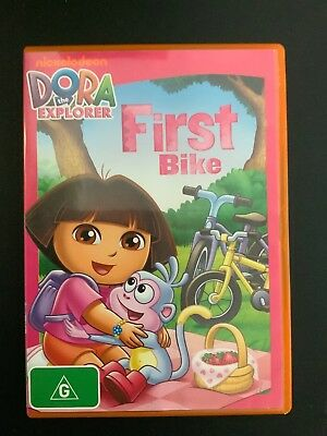 DORA THE EXPLORER FIRST BIKE DVD- IN VGC -Get it Fast!
