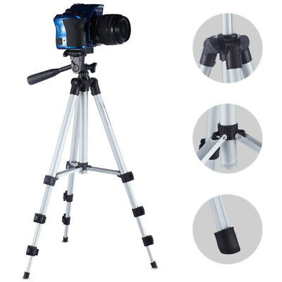 US Universal Portable Aluminum Tripod Stand With Bag For Phone Camera Camcorder