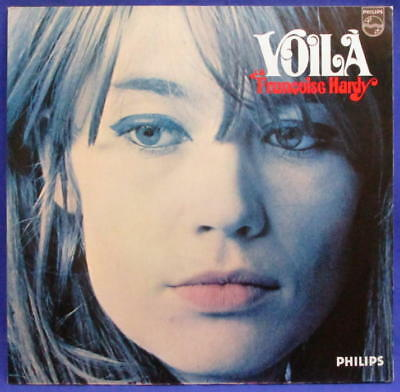 Lp Francoise Hardy - Voila // Very Rare German Philips // **** Mint- ****