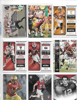 Lot Of 600 Football Cards With Patrick Mahomes & Todd Gurley Rookie