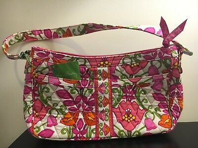 RETIRED VERA BRADLEY LILLI BELL Large Hipster CROSSBODY Shoulder BAG ... 9d929b6dea4d2