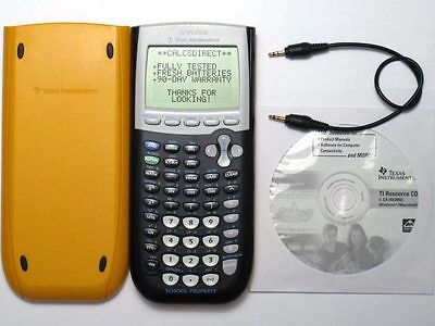 Texas Instruments TI-84 Plus Graphing Calculator YELLOW