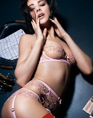 1fd3b0549bb9a Agent Provocateur Sold Out Full Lindie Pink Set 34C 2 2 Or 3
