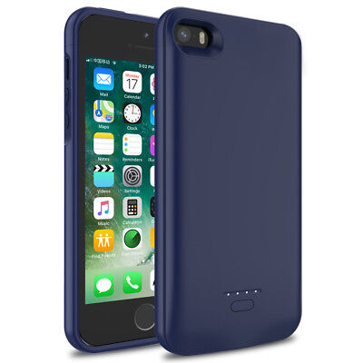 4000mAh Ultra Slim Extended Battery Charging Case for iphone 5 5S