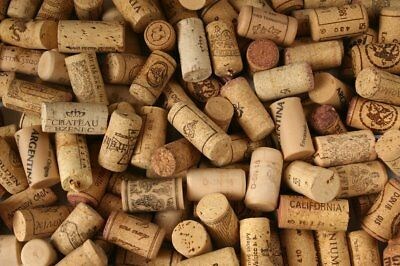 200 European / USA Used / Recycled Wine Cork Mix, Perfect for Crafting / Project