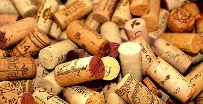 400 European / USA Used / Recycled Wine Cork Mix, Perfect for Crafting / Project