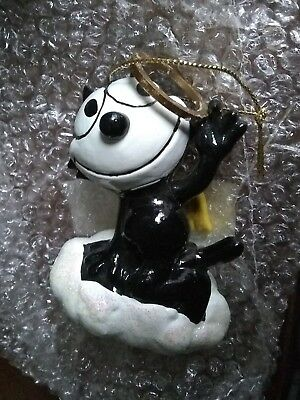 Felix The Cat Angel Holiday Ornament Kurt S. Adler 2004 exc