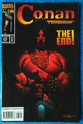 Conan The Barbarian 275 Last Issue -The End Marvel Usa
