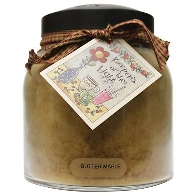 Almond Butter Pound Cake 34-oz Papa Jar//Tag Keepers of the Light Candle
