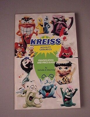 Kreiss Psycho Ceramics Book Price Guide by King 1998 reference Out of print