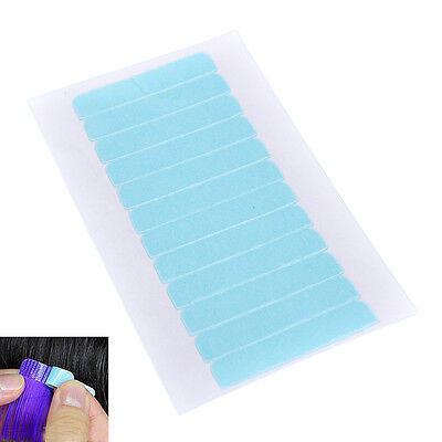 12/60  Precut Super Double Sided Tape Weft Tape-in Hair Extension Replacement ES