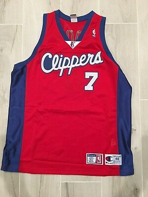 Los Angeles LA Clippers Lamar Odom authentic NBA Champion jersey size 48 4466ee923