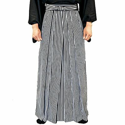 Kyoetsu Hakama Washable horseback riding hakama striped men's 5-sizes F/S New