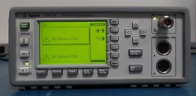 Agilent / Keysight E4417A EPM-P Series Dual-Channel Power Meter, Tested