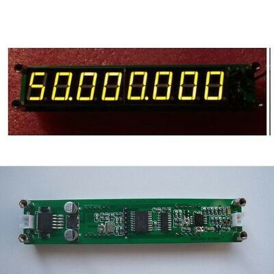 1MHz TO 2400MHz 8 LED RF Singal Frequency Counter Tester Meter Ham Radio YELLOW