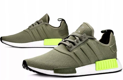 1fef736460fa3 NEW ADIDAS NMD R1 Mens sneaker cargo volt all sizes -  74.99