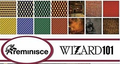 Harry Potter Wizards 101 Plaid #4-12X12 Scrapbook Papers by Reminisce 5 sh