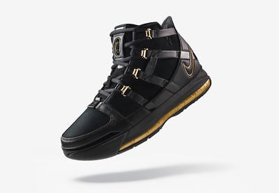 DS NIKE ZOOM LeBron III 3 QS Black Metallic Gold - AO2434-001 - Size ... 2875f109a