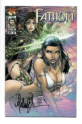 Fathom #12 Cover A Signed Michael Turner Image Top Cow Comics