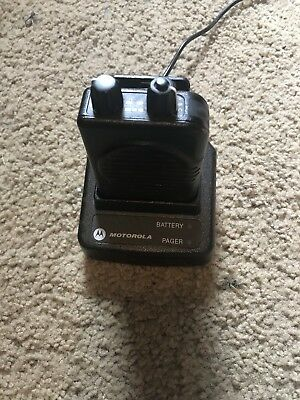 Motorola Minitor V Pager And Charger & Programming Included