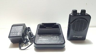 Motorola Minitor IV 4 VHF Pager 151-159MHz with Charger TEST FIRE EMS FAST SHIP!