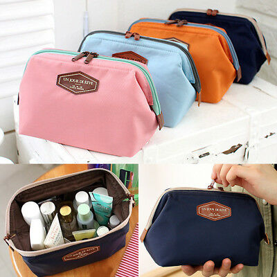Multi-Function Purse Box Travel Makeup Cosmetic Bag Toiletry Pencil Case Pouch