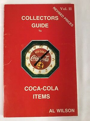 COLLECTERS GUIDE to COCA-COLA ITEMS Vol. II  Revised Prices 1988 Paperback