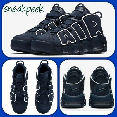 san francisco fe77b 40f5f NIKE AIR MORE UPTEMPO  96 UK13 EUR48.5 921948 400 MENS TRAINERS 100%