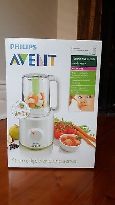Philips AVENT 2 in 1 heathy baby food maker (Steam, Flip, Blend and serve)