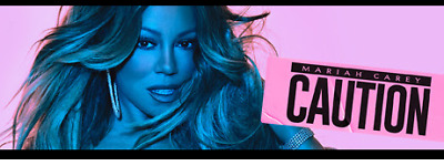 New Album Caution by Mariah Carey - CD  **Free Shipping** Release Date 11/16/18