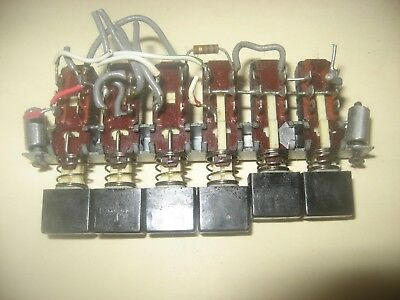 Heathkit Sb-104 104A Transceiver Push Button Switches Left Side 64-674