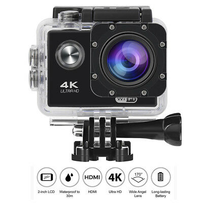 4K Ultra HD 1080P Waterproof Sport Camera WiFi Action Camcorder as Go Pro US