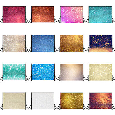 78 Types Colorful Glitter Photography Backdrop Studio Photo Background 3x5/5x7ft