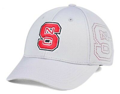 separation shoes 821aa 05f1f ... clearance north carolina state wolfpack top of the world ncaa light  gray rails flex cap 725ed